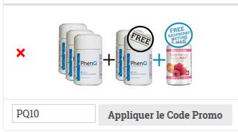 Code promo Phenq